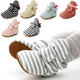 Hot selling New fashion warm Cotton fabric stars print 0-2 years baby girl boots baby booties