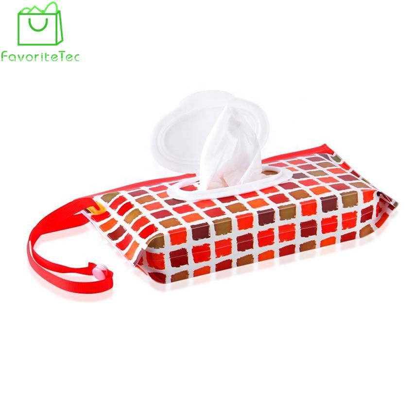 Clean Tücher mit Tasche Feuchttücher Beutel Kosmetikbeutel wischt Container YR