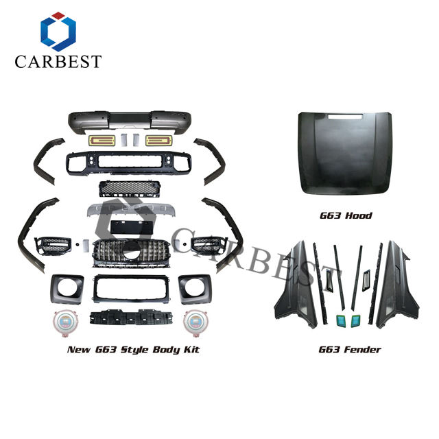 Manufacture New Design Car Kit Parts Front Bumper W463/W464 2019 1:1 Body kit for Benz G65 G500 2002-2017