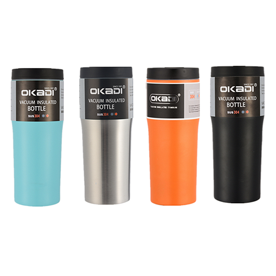 2020 Amazon Hot Selling 16oz Personalized Fancy Thermos Mugs, Double Wall Vacuum Travel Coffee Tea Tumbler Cups