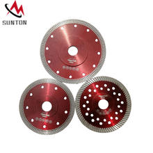 Hot pressed 105 110 115 125 150 180 230mm  X turbo diamond disc for fast cutting   tile granite marble