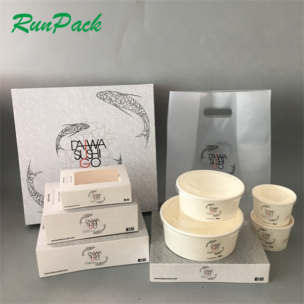 Customize Design Sushi Togo Box , Sushi Packing for Sushi Shop