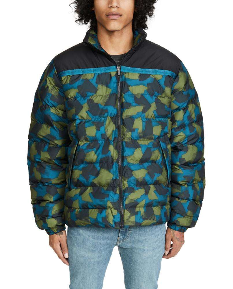 Wholesale custom Fashion Sublimation Hooded Puffer Coat winter coat for men pullover