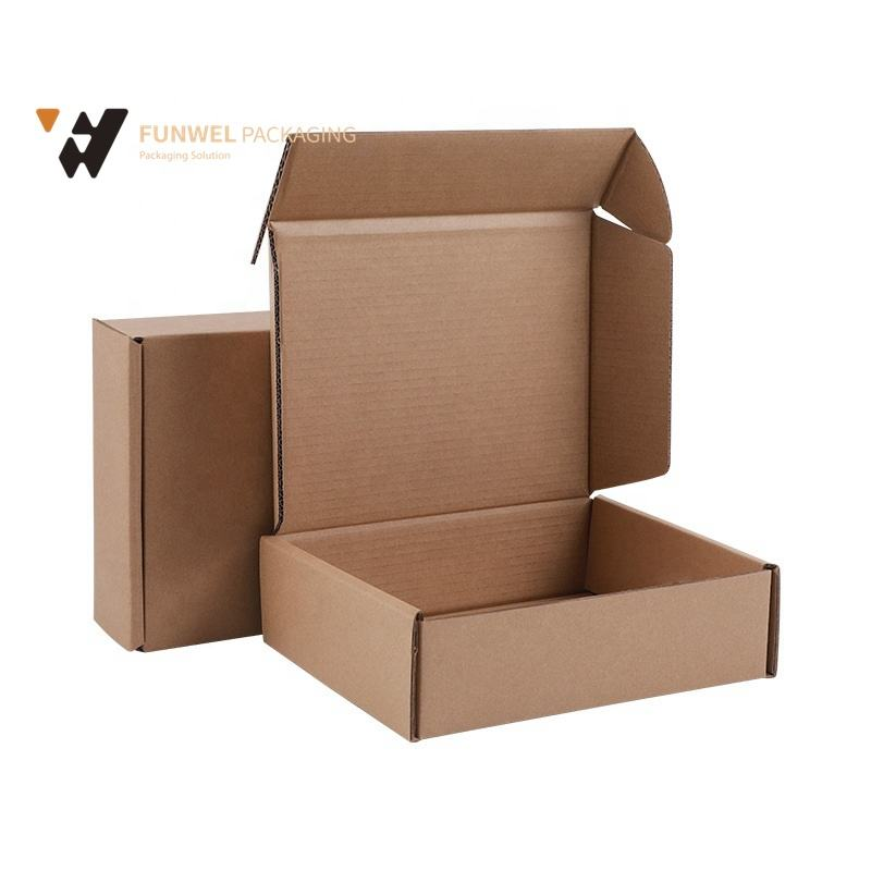 Strong Tuck Top Mailing Box Postal Packaging Corrugated Cardboard Mailer