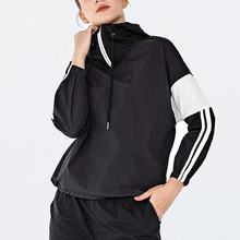 New Design Workout Hoodies Casual Half ZipTracksuit Gym Clothes Fitness Yoga Wear Woman Clothing Sports Jacket