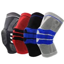 Cotton Knitting Knee Support Elastic Knee Pads Nylon Fiber Knee Brace