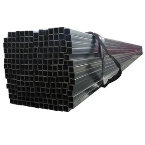 China factory price ASTM A500 standard Mild steel hollow section size 4x4 inch square tubing