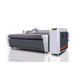 Advertising Printing Board 220V Oscillation Knife Cutting Machine