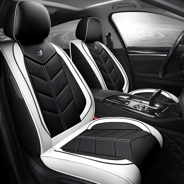 New Design Wholesale PU Leather Fashion Car Seat Covers Universal