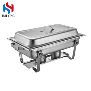 Customize 9L 8L 7.5L Buffet Equipment Hotel Stainless Steel Oblong Chafing Dish Buffet