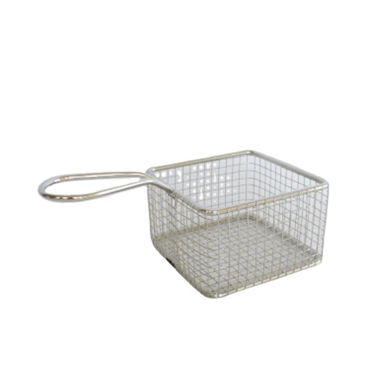 Cooking chicken clean deep fat frier basket french fry basket