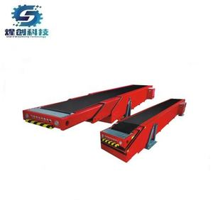 container loading equipment telescopic conveyor belt