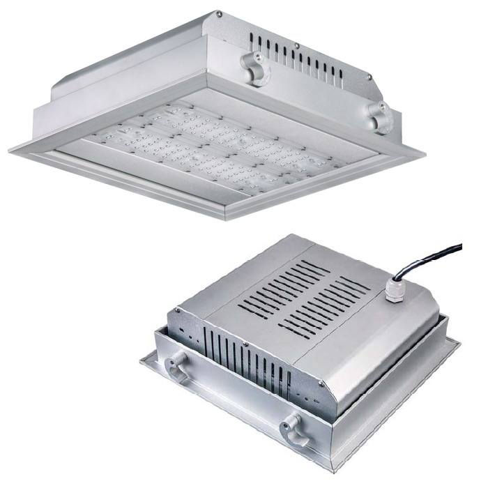 led Gas station canopy led light 120w 100w 80w