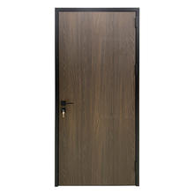 Walnut latest design aluminum wooden door interior door room door