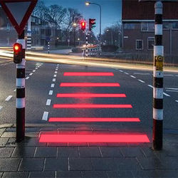 2020  China factory hot selling waterproof  Luminous LED zebra crossing for pedway