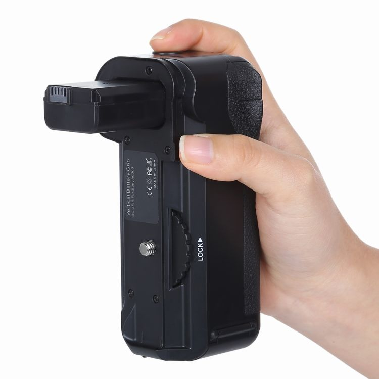 Factory price PULUZ Vertical Camera Battery Grip for A6300 Digital SLR Camera
