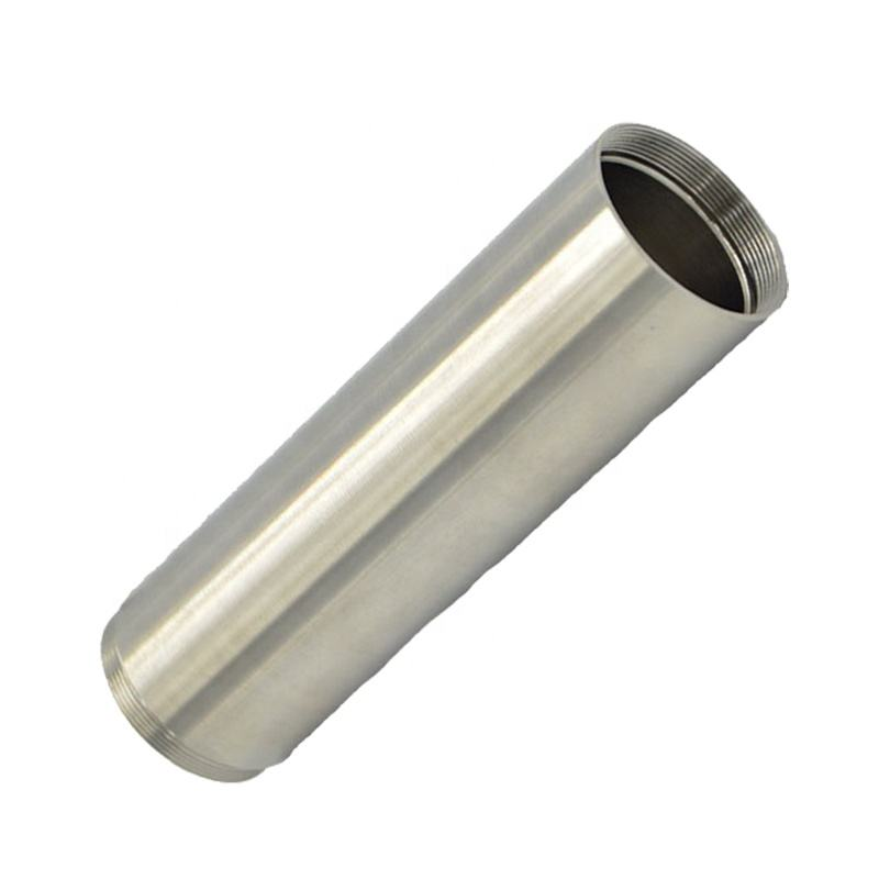 1000 Series [ Threaded Aluminium Tube ] Precision Machining Internally Threaded Aluminium Hollow Tube