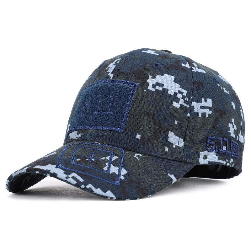 Promotional Army Camouflagea Army Hats Men/Camo Flat Top Baseball Hat Flat Military Cap/Outdoor Hunting Military Hat
