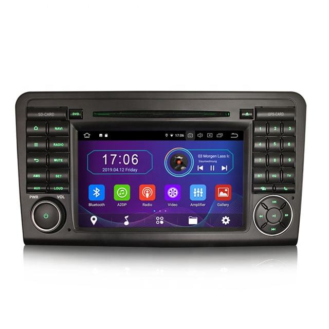 "Erisin ES4961L 7"" Android 9.0 Car radio gps for Mercedes Benz ML/GL Class W164 X164"