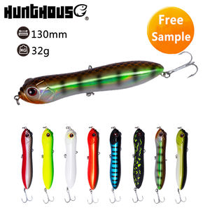 Hunthouse 130mm trairao pike bait lóc bút chì mồi