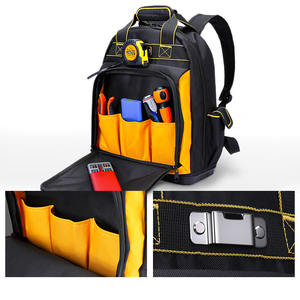 oyvp-1057 electrician tool bag heavy duty backpack