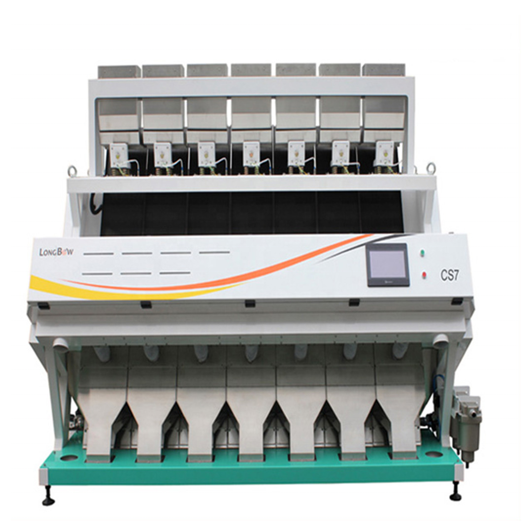 Thailand jasmine rice color Sorter Machines Wholesale Price CCD Color Sorter for long-Grain Rice Japan mill