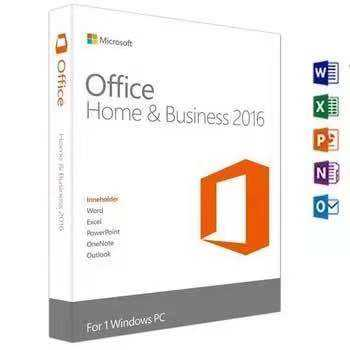 High Quality Microsoft Office 2016 Standard Retail Box Package with Original License DVD Online Activation Computer Software