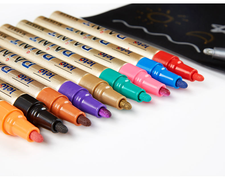 2020 new design fabric painting marker pen permanent paint pen textile marker