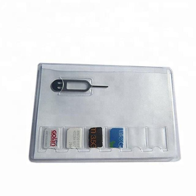 Cheap Factory Pvc Plastic Sd Card Case Sim Card Holder,High Quality Silicone Card Holder,Cheap Card Holder