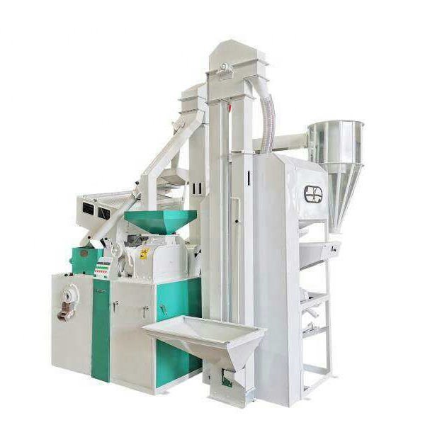 low price auto rice mill machine combined