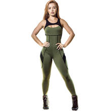 OEM Compression Breathable brazilian workout jumpsuit Women Fitness Yoga Jumpsuit