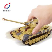 Battery operated wireless military battle remote control army tank toy