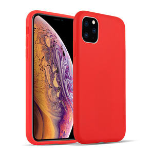 New design magnetic flocking cloth liquid silicone phone case for iphone 11 Pro Max X XR XS MAX 7 8 plus