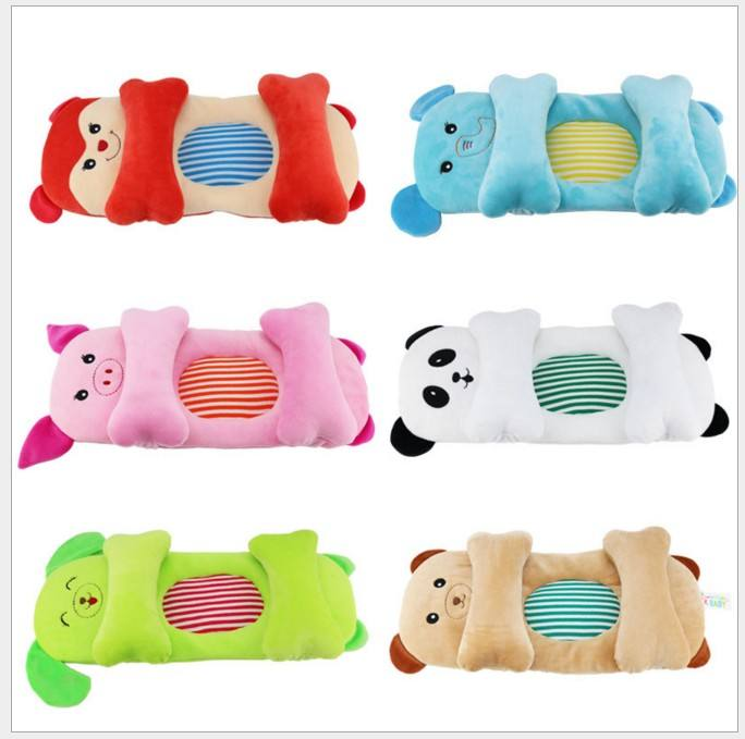 Neonatal animal moulding pillow 0-6-12 months baby moulding pillow adjustable