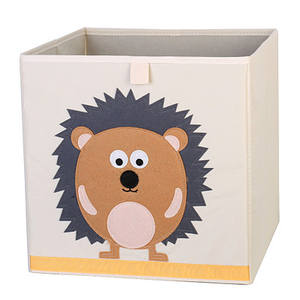 Opvouwbare Dier Speelgoed Opbergdoos Oxford Cube Borst Mand Organizer Voor Kids
