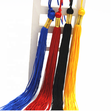 2019/2020/2021 China manufacturers direct sales high quality  wholesale cheap customized 40cm polyester graduation cap tassel