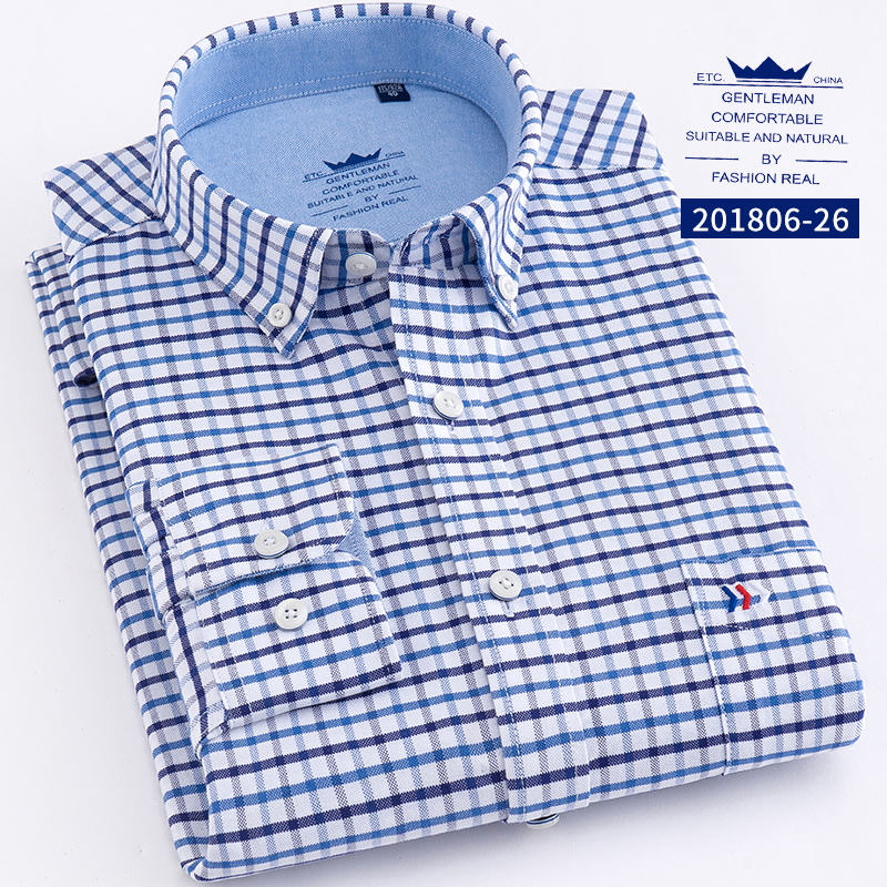 Wholesale Manufacture High Quality formal casual shirts for men cotton