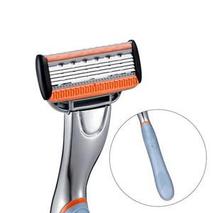 5 plus 1 trimmer blade 6 blades men shaving razor