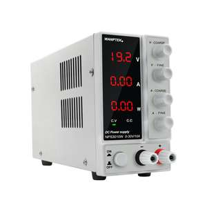 Beralih 30V 10A Saat Ini Voltage Regulator Programmable 24 V PWM Papan Modul DC Power Supply dengan Power Display