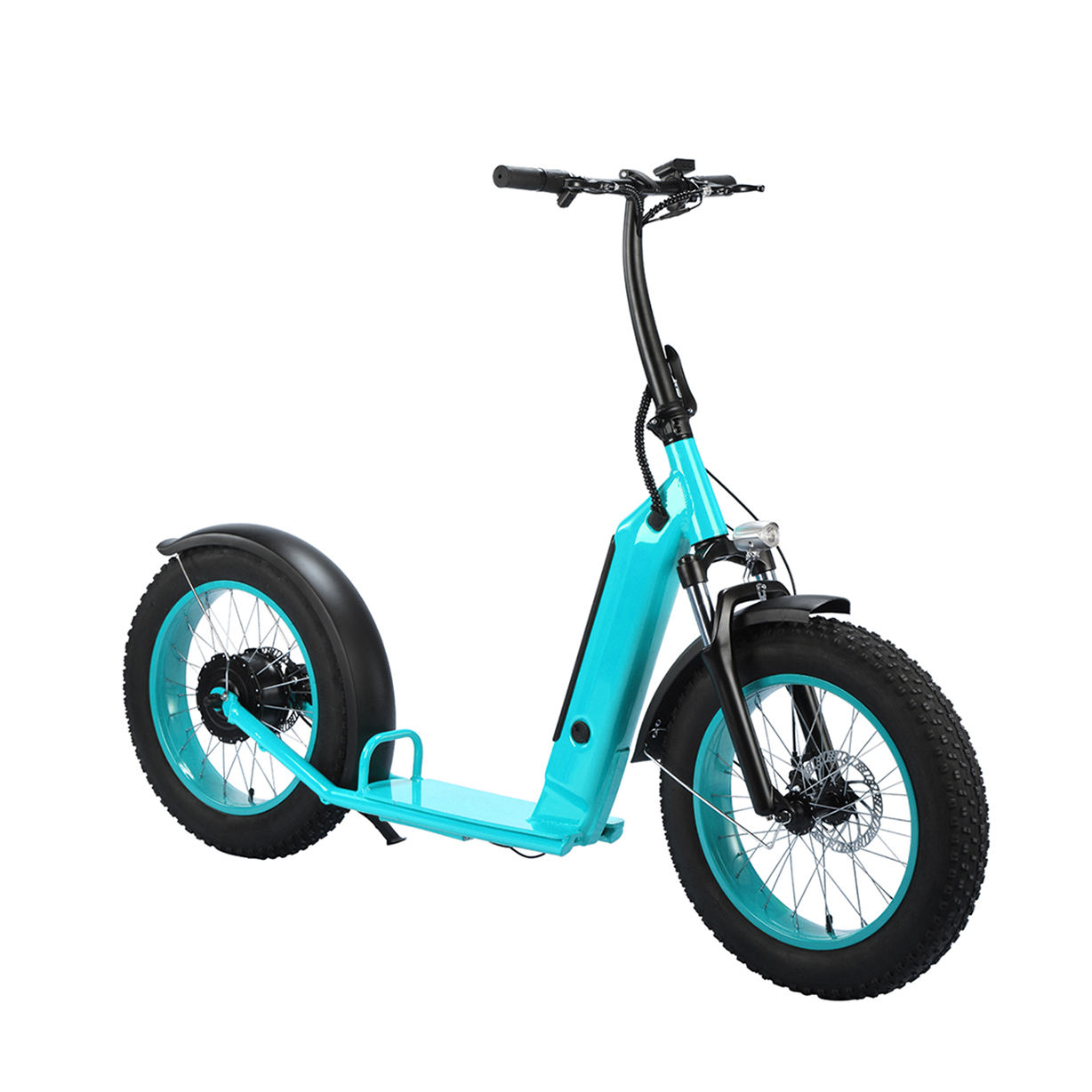 Electric Scooters Suppliers 500W 48V 14Ah Fat Tire E Scooter Big Wheel Electric Scooter Electric Off Road Scooter