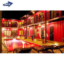 China low Price Prefabricated Container House/Prefab Container Houses/Mobile Home for hotel motor lodge