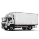 Enclosed Cargo Van 4x2 Trailer Medium-duty Truck FOTON AUMAN EST-M Truck for Cargo Transport