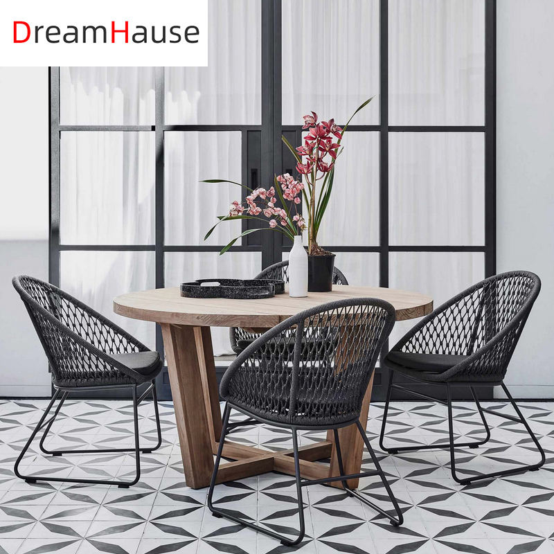 Dreamhause Outdoor Table And Chair Courtyard Garden Villa Hotel Leisure Balcony Small Table Chairs Set Living Room Wicker chair