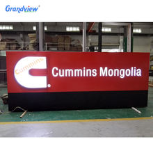 Customized metal or acrylic Business shop Sign illuminated 3D LED acrylic letter signage