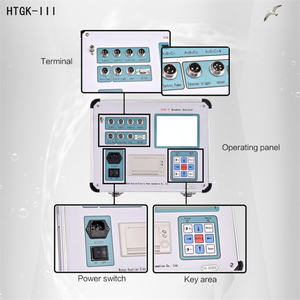 HTGK-III Circuit Breaker Mechanical ลักษณะ Test leakage Circuit Breaker เครื่องทดสอบ