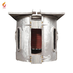 100 kg electric induction industrial furnaces hot sale from China manufacturer