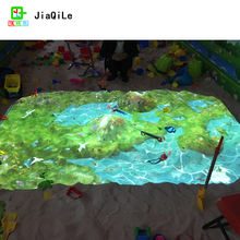 Science and technology museum popular game VR interactive sand table magic sand table game