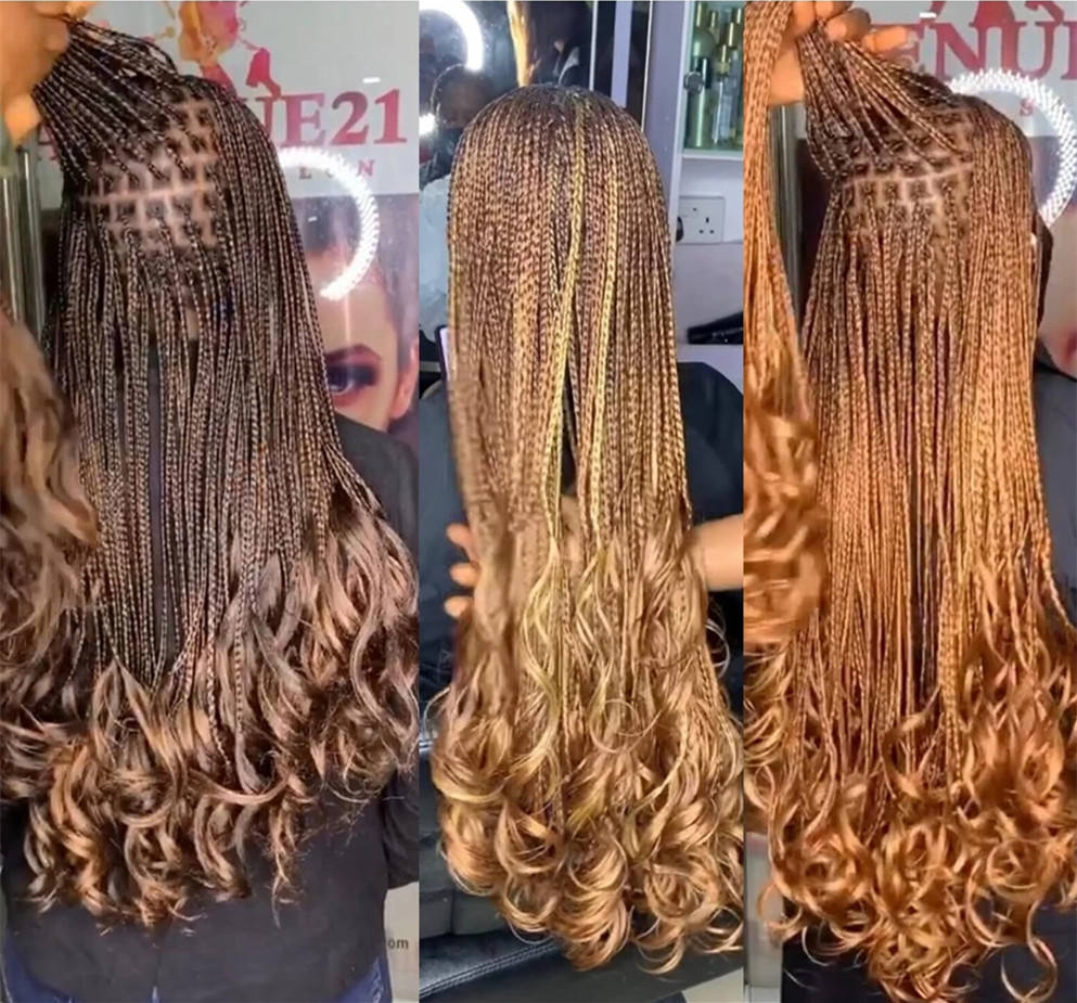 HOT selling 20 Inch 150G Spiral Curls Synthetic Loose Wave Crochet Braids Hair Extensions Braiding Hair For Black Women
