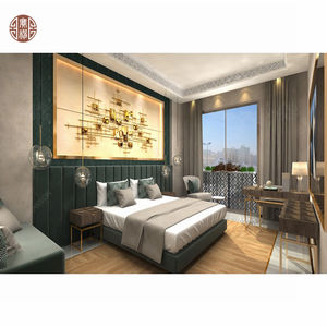2020 Foshan Custom Modern Style High Quality Hotel Resort Bedroom Furniture