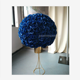LFB773 Customized color royal blue luxury wedding table bridal flower ball table flower decor